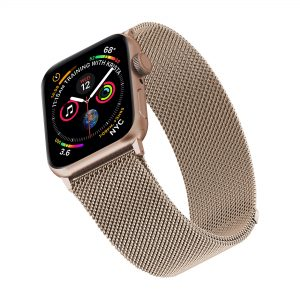 Foto Geonav Pulseira Apple Watch Milanese 38/40 – Gold