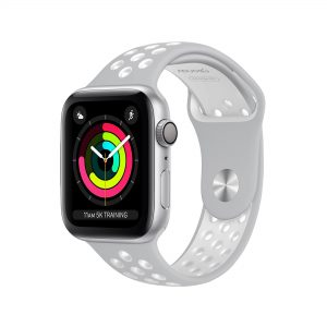Foto Geonav Pulseira Apple Watch Sport 38/40 – Silver